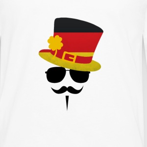 Germany Go Moustache Tee shirts - T-shirt manches longues Premium Homme