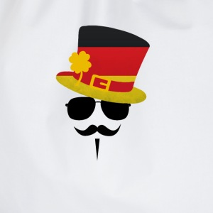 Germany Go Moustache T-shirts - Sportstaske