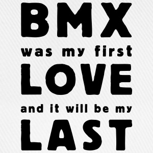 bmx was my first love T-shirts - Baseballkasket