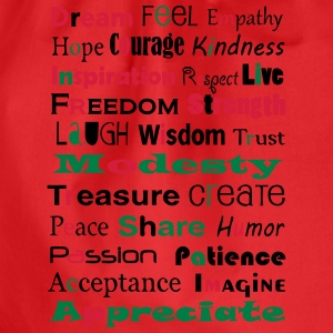 Words of wisdom T-shirts - Gymtas