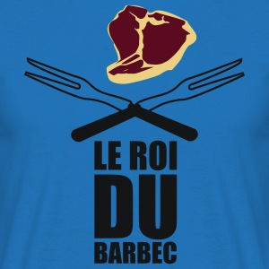 Tablier Roi du Barbecue  - T-shirt Homme
