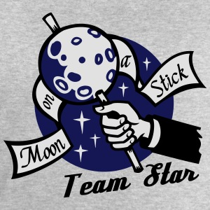 Moon on a Stick - Team Star T-Shirts - Men's Sweatshirt by Stanley & Stella