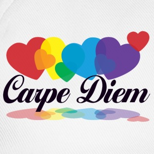 rainbow carpe diem T-Shirts - Baseball Cap