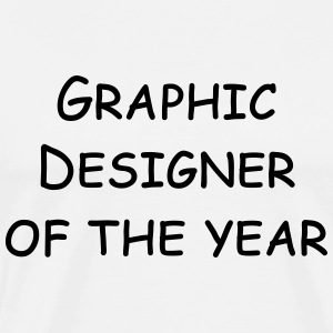 graphic designer of the year Shirts - Men's Premium T-Shirt