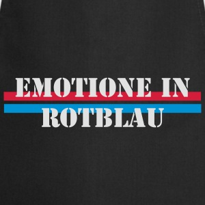Emotione in Rotblau (FC Basel) - Kochschürze