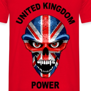 united kingdom power 1 Hoodies & Sweatshirts - Men's T-Shirt