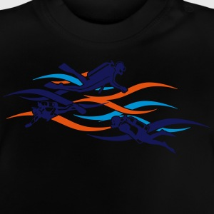 taucher - diver T-Shirts - Baby T-Shirt