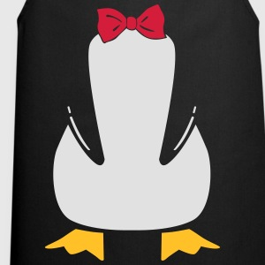 penguin with bow tie Shirts - Keukenschort