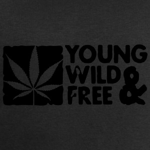 young wild and free weed leaf boxed Czapki  - Bluza męska Stanley & Stella
