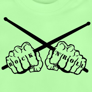 rock 'n' roll drummer fists T-shirts - Baby T-shirt