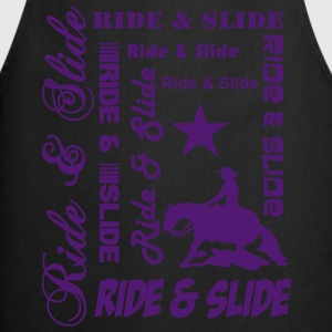 Ride & Slide T-Shirts - Cooking Apron