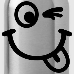 Smiley T-Shirts - Trinkflasche