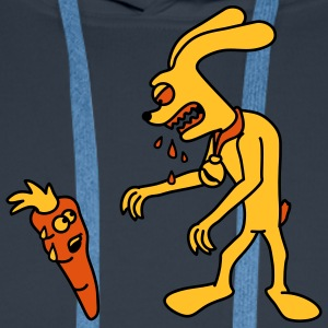 Hungry Monster Bunny T-Shirts - Männer Premium Hoodie