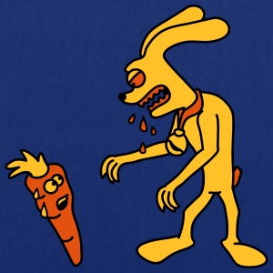 Hungry Monster Bunny T-skjorter - Stoffveske