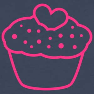 Heart Muffin Tee shirts - T-shirt manches longues Premium Homme