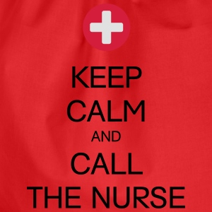 KEEP CALM AND CALL THE NURSE T-Shirts - Turnbeutel