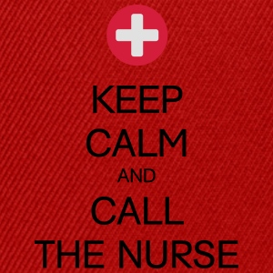 KEEP CALM AND CALL THE NURSE T-Shirts - Snapback Cap