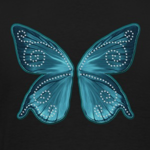 Butterfly wings, fairy, Wonderland, magic Sweaters - Mannen Premium T-shirt