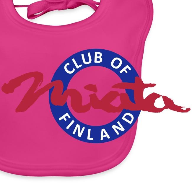 Miata Club -vauvan ruokalappu