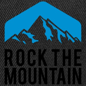 BERGSTEIGEN, ROCK THE MOUNTAIN T-Shirts - Snapback Cap