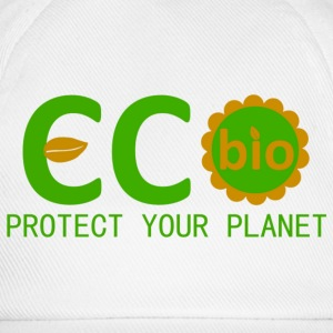 eco bio protect your planet Magliette - Cappello con visiera