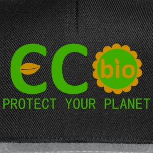 eco bio protect your planet Sweats - Casquette snapback