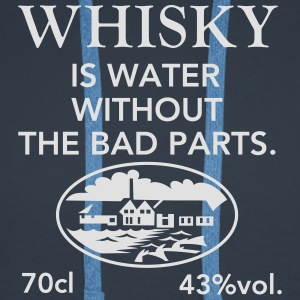 Whisky is water, Label T-Shirts - Men's Premium Hoodie
