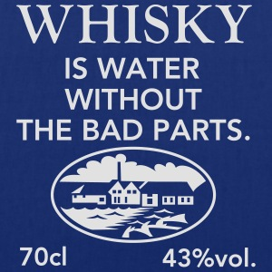 Whisky is water, Label T-Shirts - Tote Bag