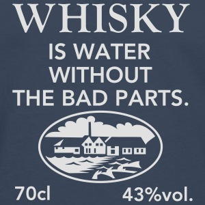 Whisky is water, Label T-Shirts - Men's Premium Longsleeve Shirt