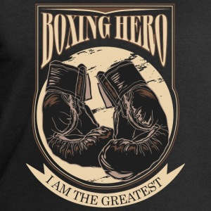 Boxing Hero - The Greatest - On Dark T-Shirts - Men's Sweatshirt by Stanley & Stella