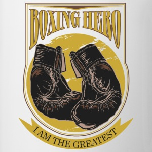 Boxing Hero - The Greatest  Tee shirts - Tasse