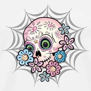 Sweet Sugar Skull - Men's Premium T-Shirt