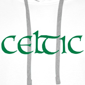 Celtic Tee shirts - Sweat-shirt à capuche Premium pour hommes