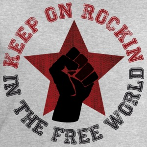 Keep on rockin in the free world T-Shirts - Männer Sweatshirt von Stanley & Stella
