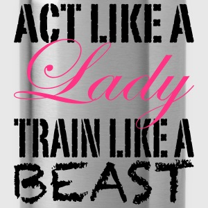 Act Like A Lady Tee shirts - Gourde