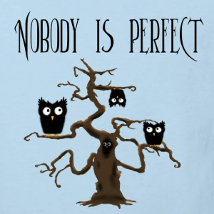 Nobody is perfect mit Text Pullover & Hoodies - Kinder Bio-T-Shirt