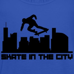 Skate in the city Camisetas - Camiseta de tirantes mujer, de Bella
