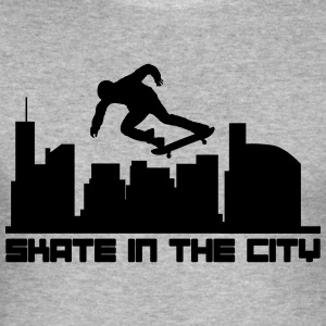 Skate in the city Sweaters - slim fit T-shirt