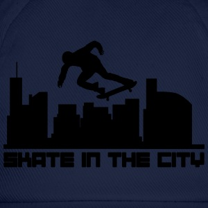 Skate in the city Camisetas - Gorra béisbol