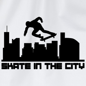 Skate in the city T-shirts - Gymnastikpåse