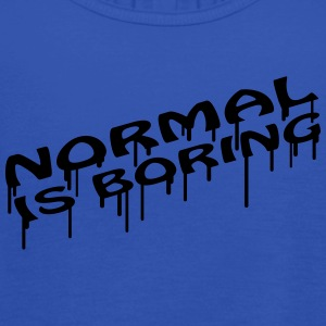 Normal Is Boring Graffiti T-skjorter - Singlet for kvinner fra Bella