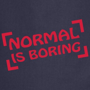Normal Is Boring Frame T-skjorter - Kokkeforkle