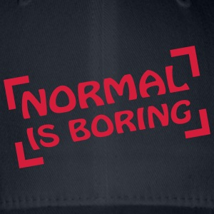 Normal Is Boring Frame T-skjorter - Flexfit baseballcap