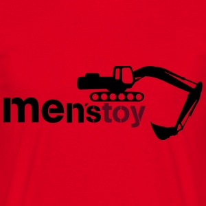 Men toy excavator  Hoodies & Sweatshirts - Men's T-Shirt