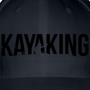 kayaking T-shirts - Flexfit baseballcap
