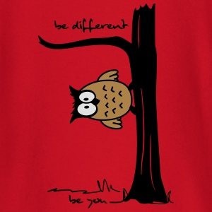 Eule auf Baum be different, be you T-Shirts - Baby Langarmshirt