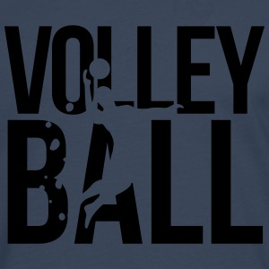 volleybal volleyball T-shirts - Mannen Premium shirt met lange mouwen