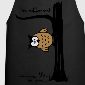 Eule auf Baum be different, be you T-Shirts - Kochschürze