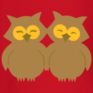 Lovely Owls T-shirts - Långärmad T-shirt baby