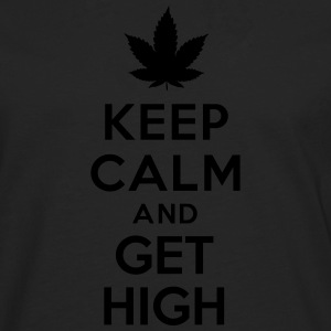 Keep calm and get high Sweat-shirts - T-shirt manches longues Premium Homme